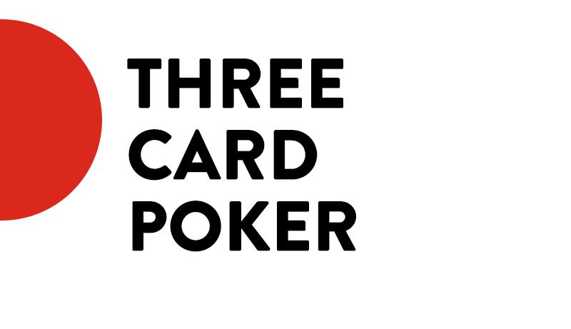 Three card poker icon