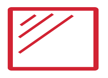 Barriers for protection icon