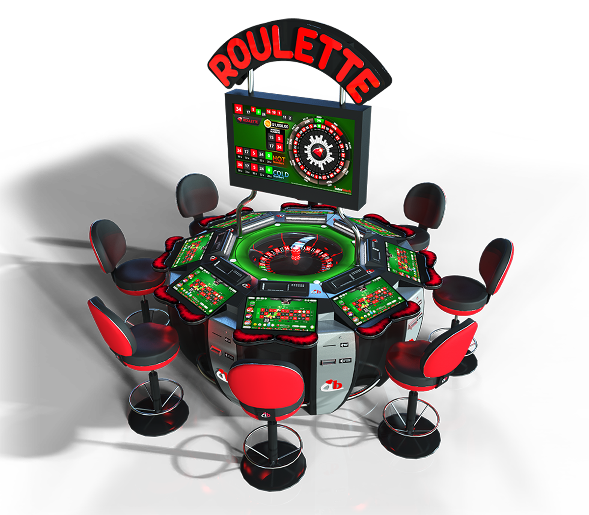 Electronic table game Roulette