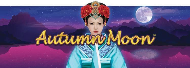 Autumn Moon Slot Machine Logo