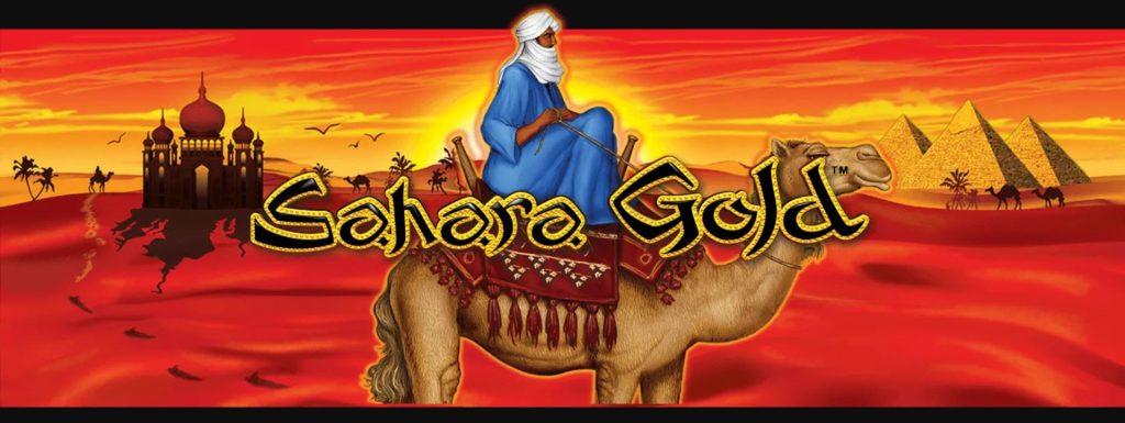 Sahara Gold Slot Machine Logo